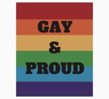 Gay & Proud One Piece - Long Sleeve