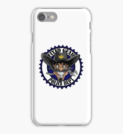 Fixed Gear Police iPhone Case/Skin