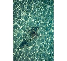 Dreaming of a Seaside Vacation - Crystal Clear Mediterranean Sunshine - Vertical Photographic Print