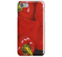 Group of Red Peppers iPhone Case/Skin