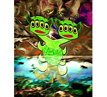 An Alien in Loch Ness Photographic Print