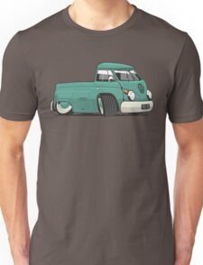 VW T1 pick-up cartoon green Unisex T-Shirt