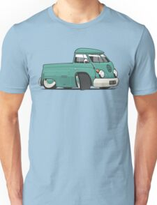 VW T1 pick-up cartoon green Unisex T-Shirt