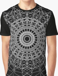 Hexagon Black Graphic T-Shirt