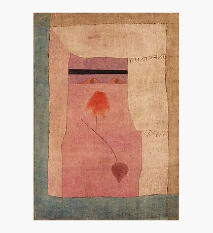 Paul Klee - Arabian Song. Abstract painting: abstract art, geometric, Arabian ,  Song, lines, forms, creative fusion, spot, shape, illusion, fantasy future Photographic Print
