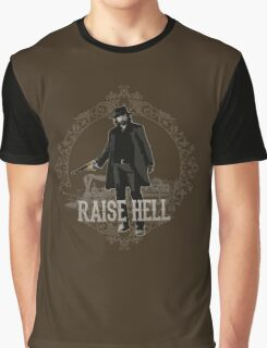 Raise Hell on Union Pacific Graphic T-Shirt