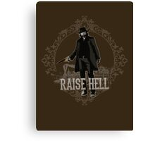 Raise Hell on Union Pacific Canvas Print