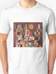 Paul Klee - Castle And Sun. Abstract painting: abstract art, geometric, Castle , composition, lines, forms, Sun, spot, shape, illusion, fantasy future Unisex T-Shirt