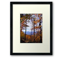Autumn Mountainscape Framed Print