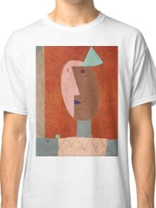 Paul Klee - Clown. Abstract painting: abstract art, geometric, expressionism, composition, lines, forms, creative fusion, spot, shape, illusion, fantasy future Classic T-Shirt