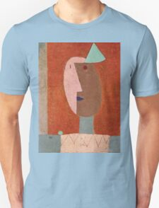 Paul Klee - Clown. Abstract painting: abstract art, geometric, expressionism, composition, lines, forms, creative fusion, spot, shape, illusion, fantasy future Unisex T-Shirt