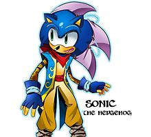 sonic the hedgehog by MrAW50ME