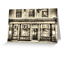 The Gipsy Moth Pub Greenwich Greeting Card