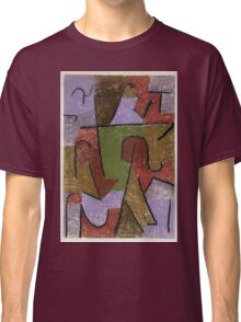 Paul Klee - Indianisch. Abstract painting: abstract art, geometric, expressionism, composition, lines, forms, creative fusion, spot, shape, illusion, fantasy future Classic T-Shirt