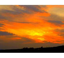 Inch Island Sunset Photographic Print