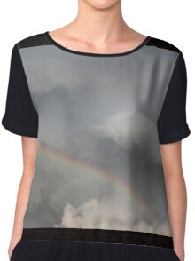 rainbow in the sky Chiffon Top