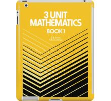 HSC Jones & Couchman 3 Unit Maths iPad Case/Skin