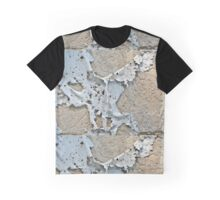 Peeling Paint Abstract Graphic T-Shirt