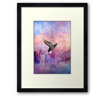 Lights Will Guide You Home (City Lights Series) Framed Print