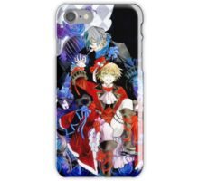 Red & blue shades (Pandora Hearts) iPhone Case/Skin