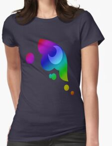MLP - Cutie Mark Rainbow Special - Princess Luna / Nightmaremoon Womens Fitted T-Shirt