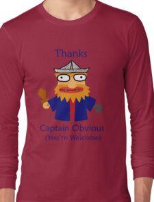 Captain Obvious Long Sleeve T-Shirt