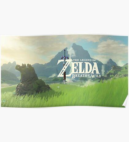 The Legend of Zelda Breath of the Wild Poster