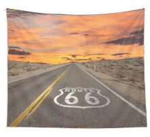 Highway Route 66 Wall Tapestry