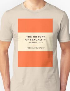 The History of Sexuality Unisex T-Shirt