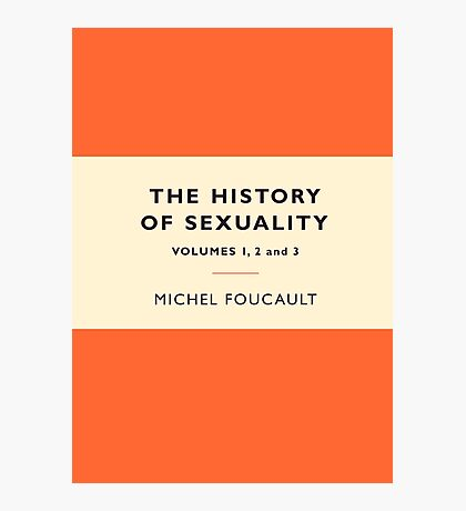 The History of Sexuality Photographic Print