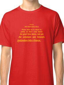 Clutch - Star Wars text crawl shirt Classic T-Shirt