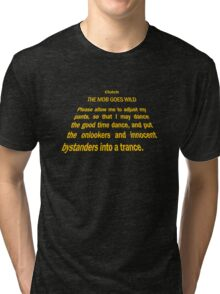 Clutch - Star Wars text crawl shirt Tri-blend T-Shirt