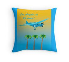 Vintage Air Travel  Throw Pillow