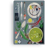 Pea Soup Canvas Print