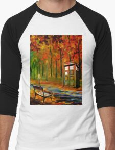 tardis beauty Men's Baseball ¾ T-Shirt