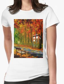 tardis beauty Womens Fitted T-Shirt