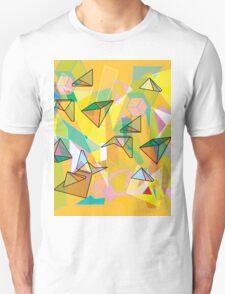 SHAPES IN ORANGE Unisex T-Shirt