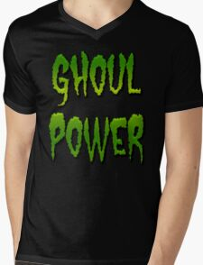 GHOUL POWER Mens V-Neck T-Shirt