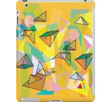 SHAPES IN ORANGE iPad Case/Skin