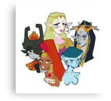 Legend of Zelda Girls Canvas Print