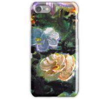 Orange Oil Flower iPhone Case/Skin