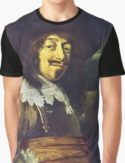 Portrait of an Officer by Frans Hals Graphic T-Shirt