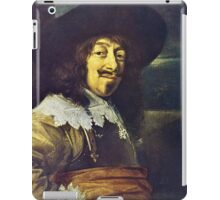 Portrait of an Officer by Frans Hals iPad Case/Skin
