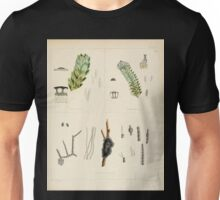 The botany of the Antarctic voyage of H M  discovery ships Erebus and Terror in the Years 1839 1843 Joseph Dalton Hooker V1 054 Unisex T-Shirt