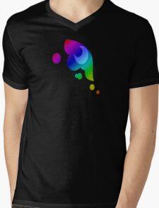 MLP - Cutie Mark Rainbow Special - Princess Luna / Nightmaremoon V3 Mens V-Neck T-Shirt