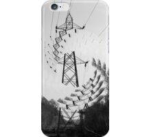 The lonely Pylon iPhone Case/Skin