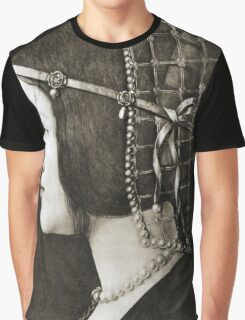 Bianca Sforza by Leonardo da Vinci Graphic T-Shirt