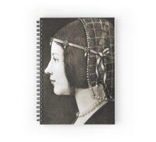 Bianca Sforza by Leonardo da Vinci Spiral Notebook