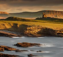 Classiebawn In Evening Light by Derek Smyth