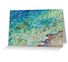 Shoreline In 'D' Minor Greeting Card